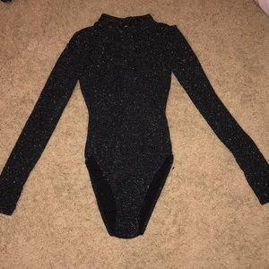 Sparkle Long Sleeve Bodysuit